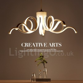 Modern/Contemporary LED Integrated Living Room,Dining Room,Bed Room PVC Chandeliers
