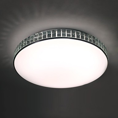 Modern Ceiling Light Led Flush Mount Acrylic Metal Painting 90-265V Led Light