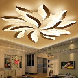 15 Light Modern/Contemporary LED Integrated Living Room,Dining Room,Bed Room 128W Chandeliers