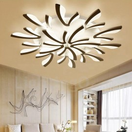 15 Light Modern/Contemporary LED Integrated Living Room,Dining Room,Bed Room 120W Chandeliers