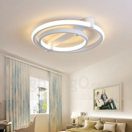 2 Rings Modern/Contemporary Living Room,Dining Room,Bed Room Chandeliers