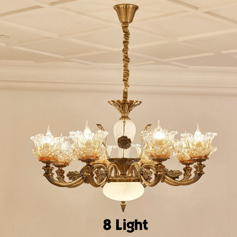 Dining Room Chandeliers Traditional: 8 Light Traditional/Classic LED Integrated Living Room