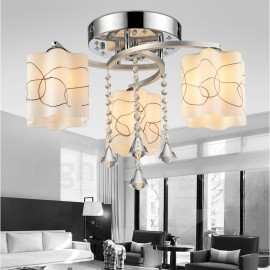 3 Light Modern/Contemporary LED Integrated Living Room,Dining Room,Bed Room E27 15W Chandeliers