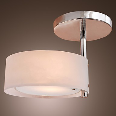 Max 60W Modern/Contemporary Mini Style Chrome Metal Chandeliers / Flush Mount Living Room / Bedroom / Hallway / Garage