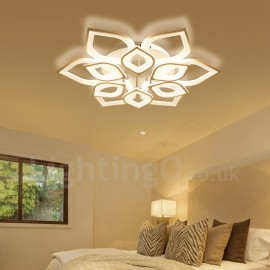 12 Light Modern/Contemporary LED Integrated Living Room,Dining Room,Bed Room Flush Mount