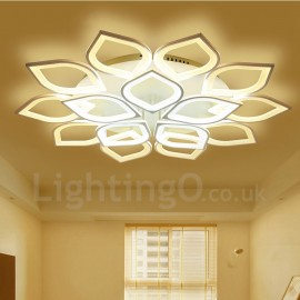 15 Light Modern/Contemporary LED Integrated Living Room,Dining Room,Bed Room Flush Mount