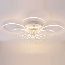 10 Light Modern/Contemporary LED Integrated Living Room,Dining Room,Bed Room Metal Flush Mount