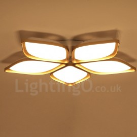 5 Light Modern/Contemporary LED Integrated Living Room,Dining Room,Bed Room Metal Flush Mount