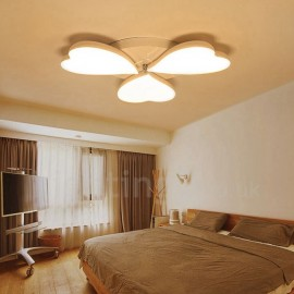 3 Light Modern/Contemporary LED Integrated Living Room,Dining Room,Bed Room Metal Flush Mount