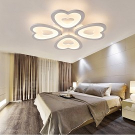 4 Light Modern/Contemporary LED Integrated Living Room,Dining Room,Bed Room Flush Mount