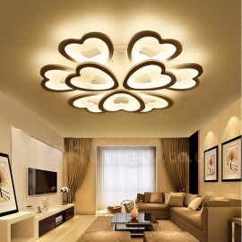 9 Light Modern/Contemporary LED Integrated Living Room,Dining Room,Bed Room Flush Mount