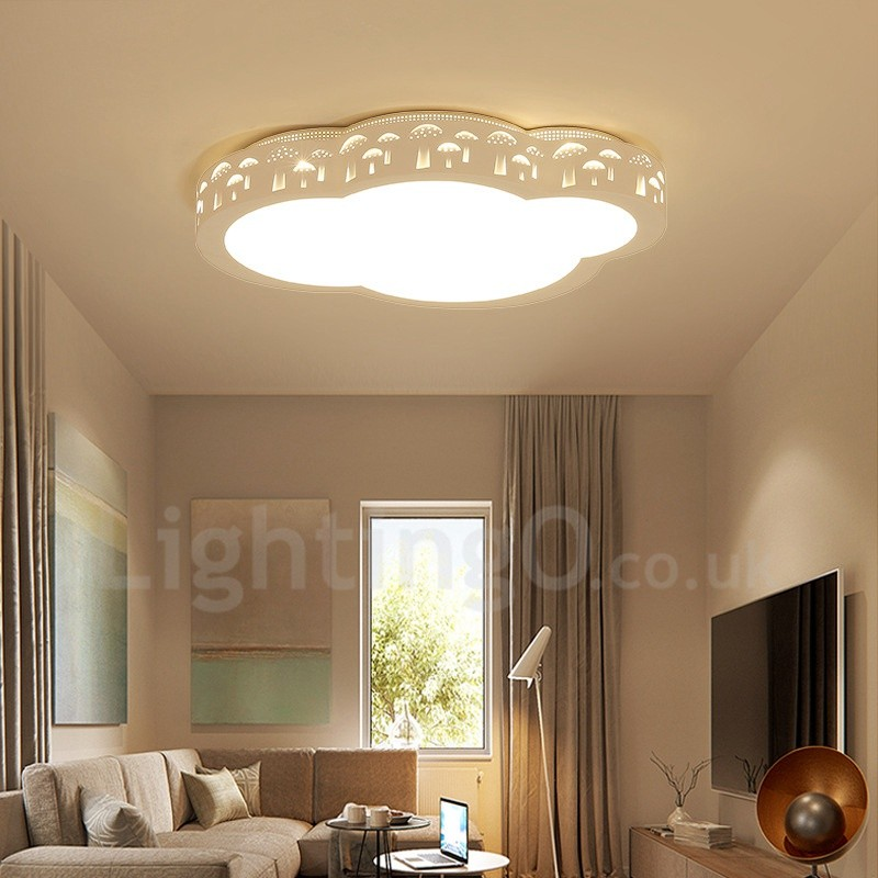 Modern Contemporary Led Integrated Living Room Dining Room Bed Room Flush Mount