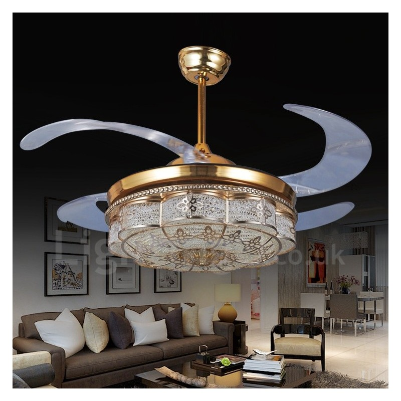 Modern Contemporary Invisible Ceiling Fan Ceiling Fans