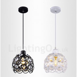 1 Light Rustic/Lodge LED Integrated Living Room,Dining Room,Bed Room E27 Pendant Lights