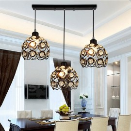 3 Light Rustic/Lodge LED Integrated Living Room,Dining Room,Bed Room E27 Pendant Lights