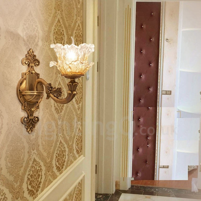 Dining Room Wall Sconces: Single Light Traditional/Classic LED Integrated Living