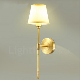 Single Light Traditional/Classic LED Integrated E14 Copper Indoor Wall Sconces
