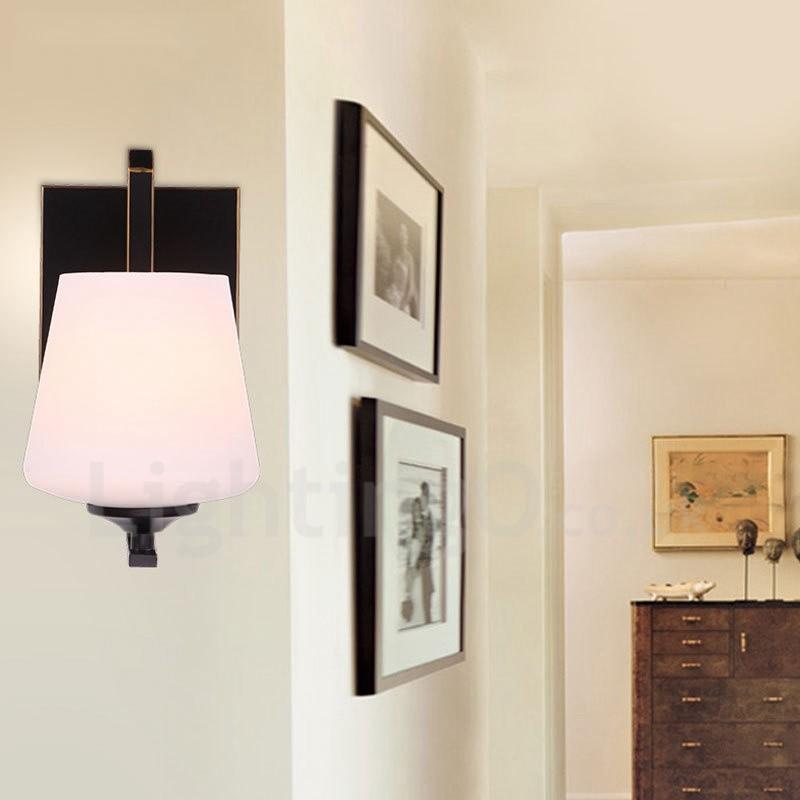Traditional Indoor Wall Sconces : Single Light Traditional/Classic LED Integrated E27 Indoor Wall Sconces - LightingO.co.uk