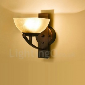 Single Light Traditional/Classic LED Integrated E27 Indoor Wall Sconces