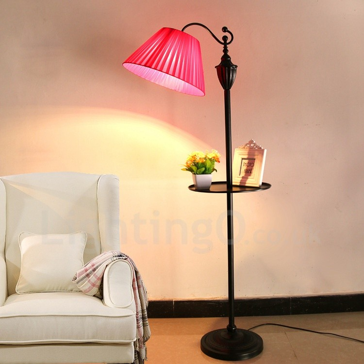 Traditional Classic Led Integrated Living Room Dining Room Bed Room Metal Floor Lamps