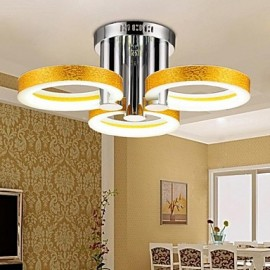 18 Modern/Contemporary / Traditional/Classic LED / Bulb Included Chrome Metal Chandeliers Living Room / Bedroom / Study Room/Office