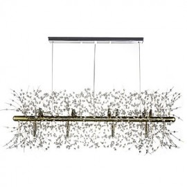 Traditional/Classic Electroplated Feature for Crystal Metal Living Room Dining Room Study Room/Office Chandelier