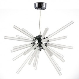 Globe Chrome Feature for Crystal Metal Living Room Dining Room Study Room/Office Chandelier