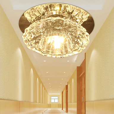 3W Energy Saving Modern LED Ceiling Light LED Crystal Ceiling Light Down light bulb Lamp