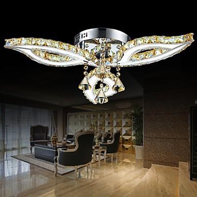 Flush Mount LED Modern/Contemporary Living Room/Bedroom/Dining Room/Study Room/Office Metal