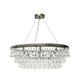 Traditional/Classic Electroplated Feature for Designers Metal Dining Room Hallway Chandelier