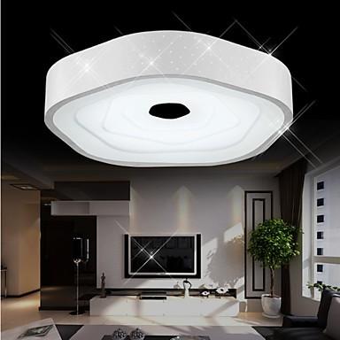 Flush Mounted LED/ Modern/Night light/ Living Room/Dining Room/Kids Room/White+Natrual White+Warm White Color