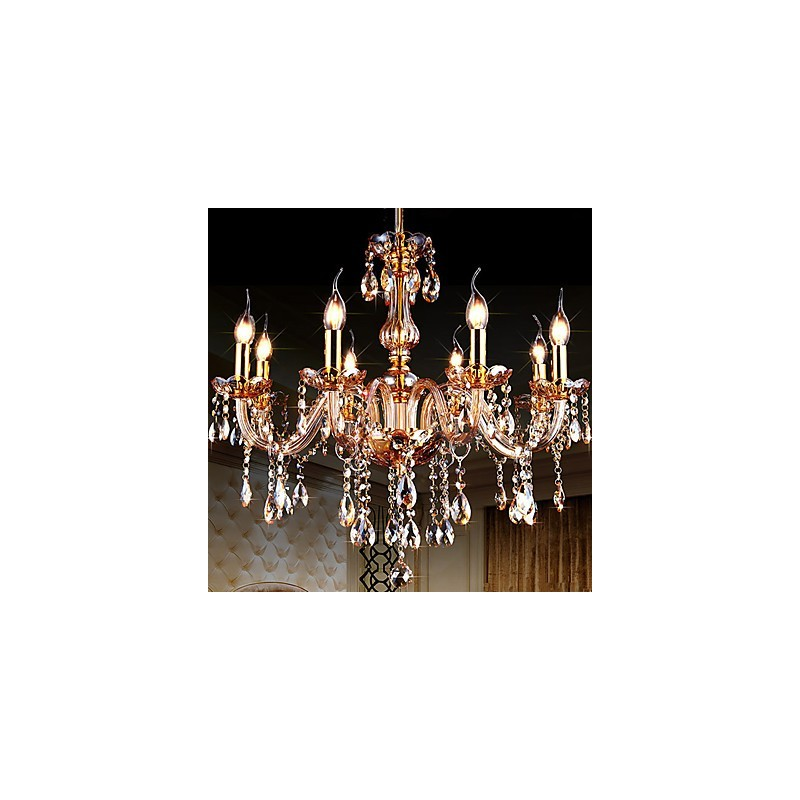 Modern contemporary traditional classic others feature for crystal candle style glassliving room - Contemporary dining room chandeliers styles ...