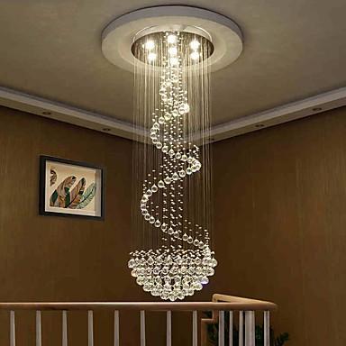 Modern Led Crystal Ceiling Chandeliers Lights Indoor