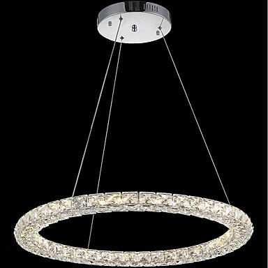 led ring crystal pendant light modern crystal chandeliers ceiling lights indoor lamp fixtures. Black Bedroom Furniture Sets. Home Design Ideas