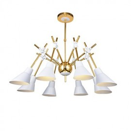 Personalized Adjustable Direction Art Chandelier Bedroom Living Room Lamp Bar Chandelier N