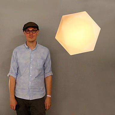 E27 220V 30*20CM Creative White Diamond Glass Dome Light Absorb Led