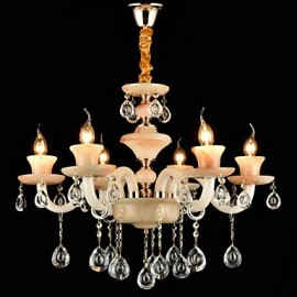 Traditional/Classic Electroplated Feature for Crystal Mini Style MetalLiving Room Bedroom Dining Room Study Room/Office Chandelier