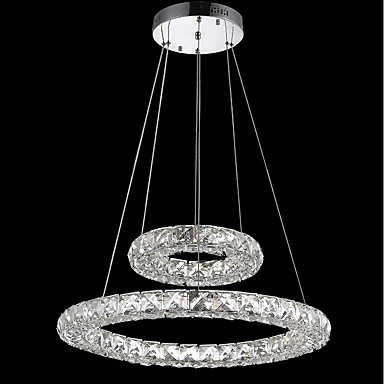 led crystal chandeliers lights indoor pendant light ceiling lamp lighting fixtures dimmable with. Black Bedroom Furniture Sets. Home Design Ideas