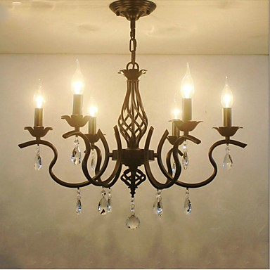 European Style Crystal Chandeliers Living Room Dining ...