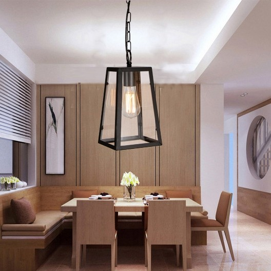 Vintage Metal Living Room Dining Room Bedroom Pendant