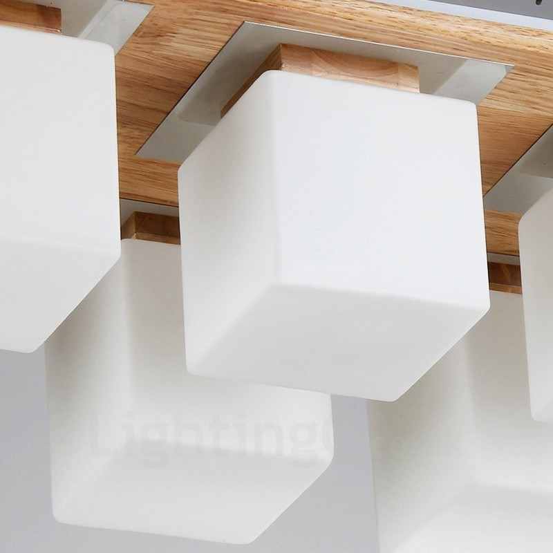 6 Light Modern / Contemporary Flush Mount Ceiling Lights