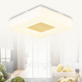 12w Modern / Contemporary Flush Mount Ceiling Lights with Acrylic Shade for Bathroom,Living Room,Study,Kitchen,Bedroom,Dining Room,Bar