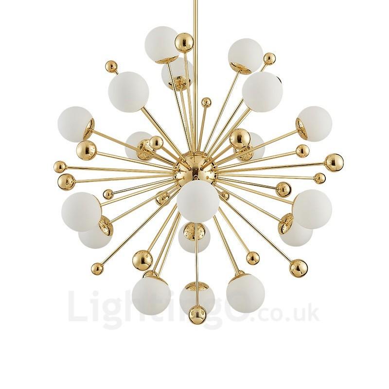 18 Light Modern / Contemporary Ceiling Lights Copper