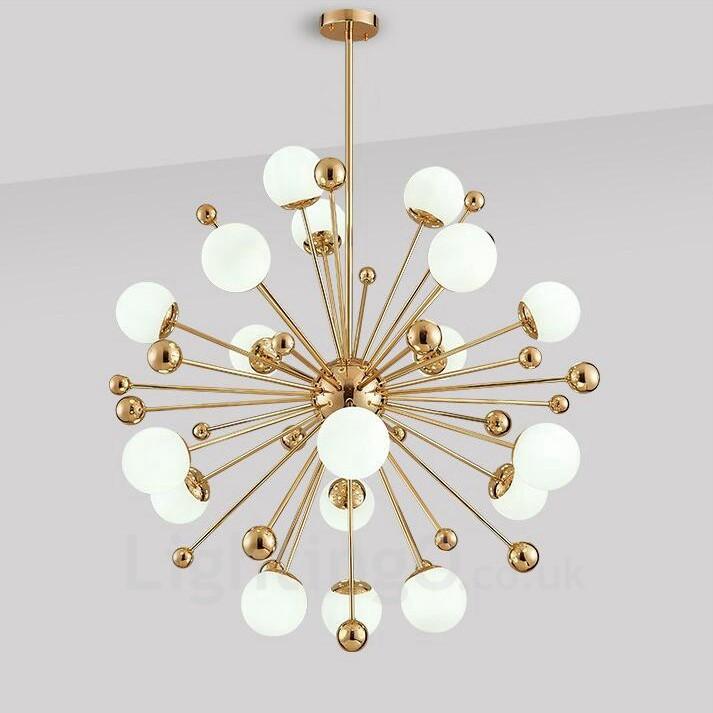 18 Light Modern Contemporary Ceiling Lights Copper