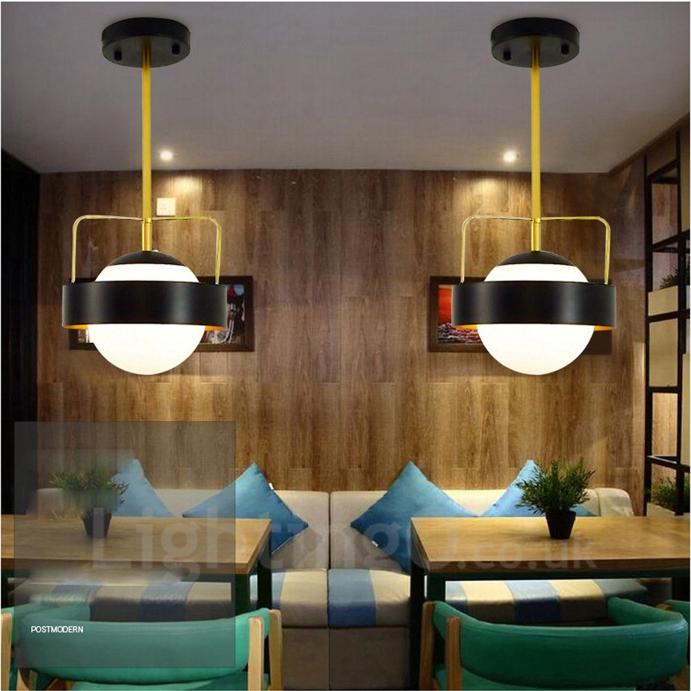 1 Light Modern Contemporary Ceiling Lights Copper