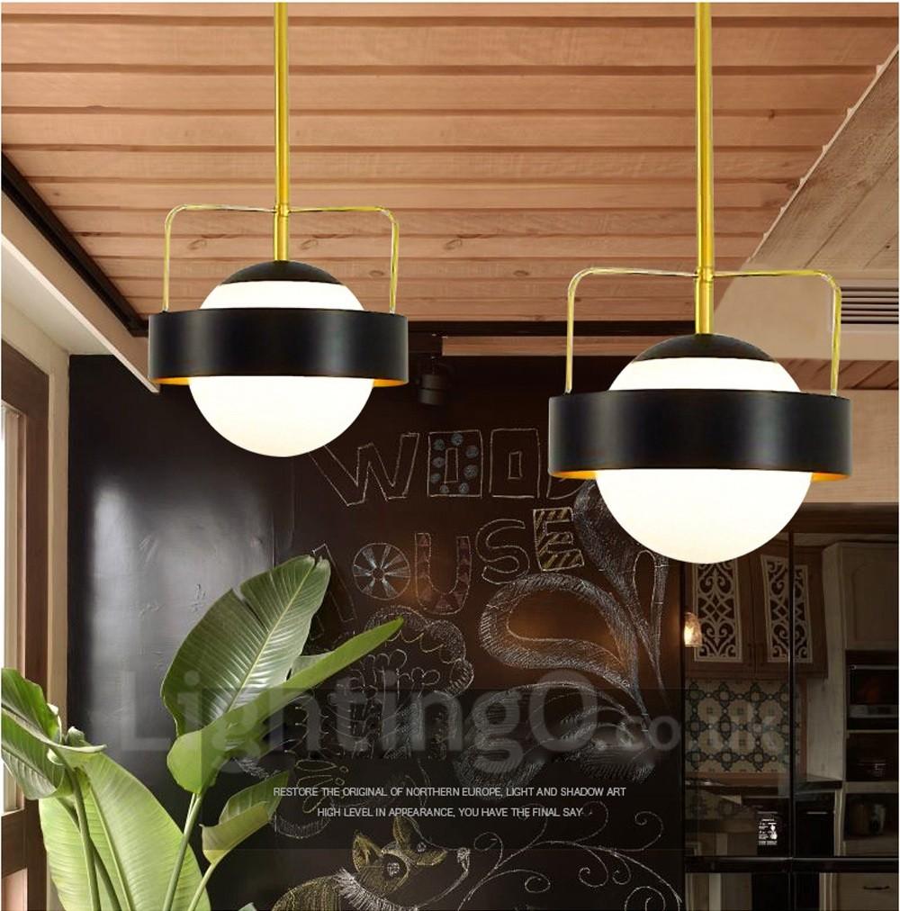 1 Light Modern Contemporary Ceiling Lights Copper