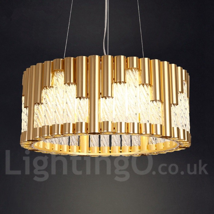 Modern Ceiling Light Dinner Room Pendant Lamp Kitchen: LED Modern / Contemporary Ceiling Lights Copper Plating
