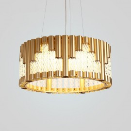 LED Modern / Contemporary Ceiling Lights Copper Plating Pendant Light for Living Room, Study, Bedroom, Kitchen, Dining Room, Bar