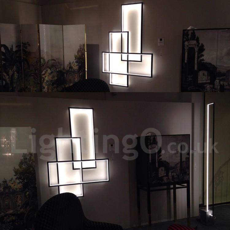 LED Modern /Comtemporary Alumilium Painting Ceiling Light