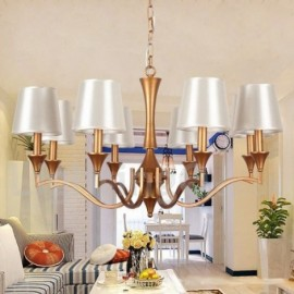 8 Light Living Room Dining Room Bedroom Candle Style Chandelier